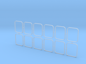 2810 ASD Outside Window Frames 1/50 in Smooth Fine Detail Plastic