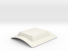 EC135 Altimeter tail boom 1/6 in White Natural Versatile Plastic