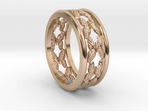 Butterfly Path Ring in 14k Rose Gold