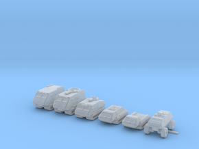 Landrams 285 scale in Smooth Fine Detail Plastic