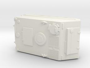 1:144 scale M113 APC in White Natural Versatile Plastic
