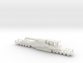 french 320mm railway artillery alvf 1/144  in White Natural Versatile Plastic