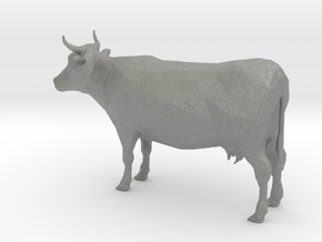 O Scale Cow in Gray PA12