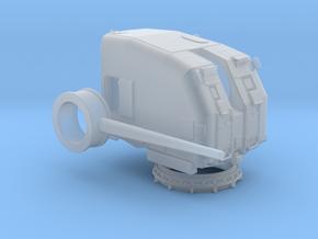 "1/72 USN 5""/38 cal. Gun Mounts Light in Smooth Fine Detail Plastic"