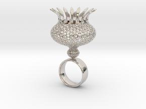 Cronosto - Bjou Design in Rhodium Plated Brass