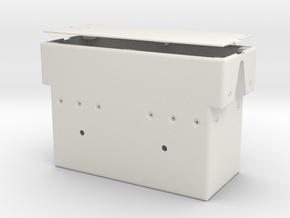 Rotation Control Housing 1:1 Matt in White Natural Versatile Plastic