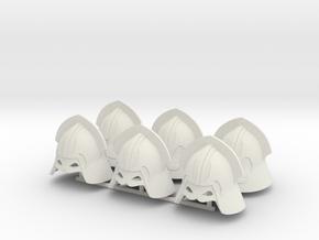 LANNISTER HELMET X6  in White Natural Versatile Plastic