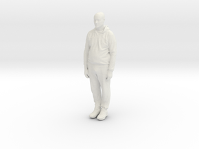 Printle C Homme 914 - 1/24 - wob in White Natural Versatile Plastic