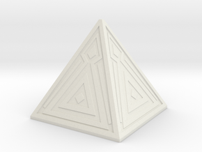Sith Holocron 2 in White Natural Versatile Plastic
