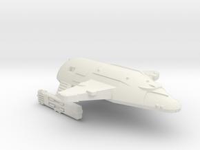 3788 Scale WYN Carcharodon Heavy Cruiser CVN in White Natural Versatile Plastic