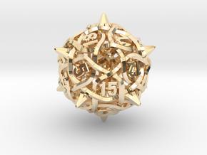 Thorn d20 V2 Mini in 14k Gold Plated Brass