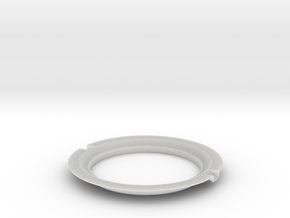 Iron Man Mark III Arc Reactor Chest Ring in Smooth Fine Detail Plastic