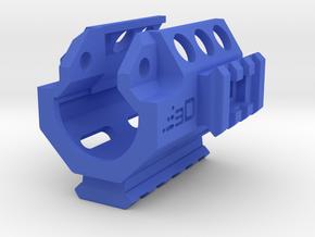 MP5K Vented Tri-Rail RIS Handguard in Blue Processed Versatile Plastic