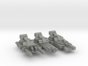 Bowpipe / Caliburn Weapons Set in Gray PA12: Medium