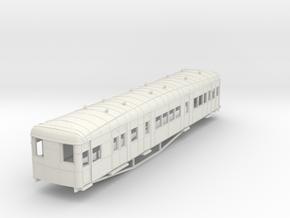 o-87-gsr-clayton-steam-artic-coach-A-body-1 in White Natural Versatile Plastic