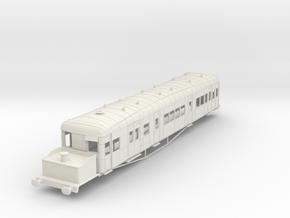 o-35-gsr-clayton-steam-railcar-scheme-A in White Natural Versatile Plastic