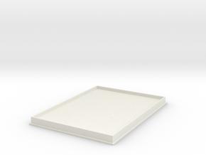 Boardgame Organizer: Standard Card Lid in White Natural Versatile Plastic