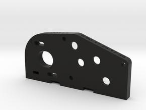 ODT V1 Motor Plate L/L in Black Natural Versatile Plastic