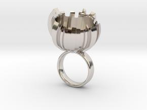 Romu - Bjou Designs in Rhodium Plated Brass