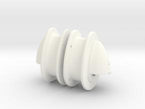 Lama Port & Starboard Nav Lights  in White Processed Versatile Plastic