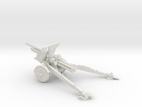 1/72 IJA Type 91 105mm Howitzer(motorized) in White Natural Versatile Plastic