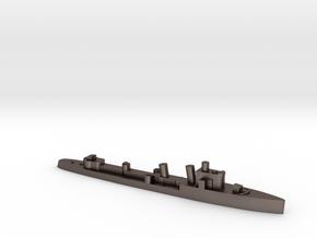 Italian Turbine destroyer WW2 1:3000 in Polished Bronzed-Silver Steel