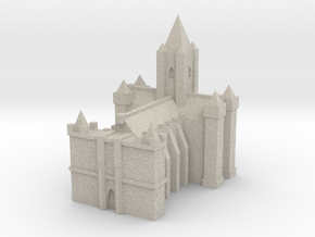 Medieval Grand Cathedral in Natural Sandstone