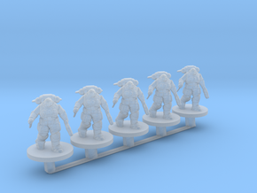 Reaver Marines Close Combat 6mm Infantry for Epic in Smooth Fine Detail Plastic