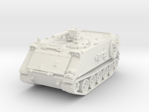 M106 A1 Mortar closed (no skirts) 1/100 in White Natural Versatile Plastic