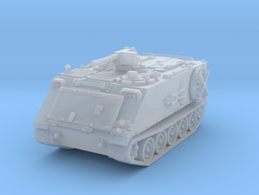 M106 A1 Mortar closed (no skirts) 1/87 in Smooth Fine Detail Plastic