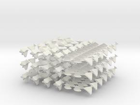 Master Tutt's Icosaminx in White Natural Versatile Plastic