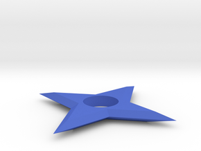 [1DAY_1CAD] SHURIKEN_type1 in Blue Processed Versatile Plastic