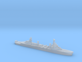 French Pluton minelaying cruiser WW2 1:1800 in Smoothest Fine Detail Plastic