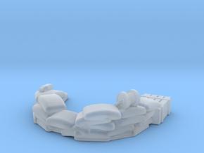 Sandbag Emplacement 1/285 in Smooth Fine Detail Plastic