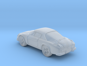 Renault a110 Alpine 1:120 TT in Smooth Fine Detail Plastic