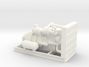 1/50th Engine for Thunderbird Swing Yarder in White Processed Versatile Plastic