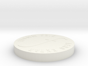 Aero Ektar Lens Cap for JoLo Hood in White Natural Versatile Plastic