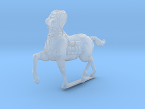female light armor centaur 2 (HSD miniatures) in Smooth Fine Detail Plastic