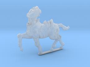 Anthropomorphic heavy armor female centaur(HSD min in Smooth Fine Detail Plastic