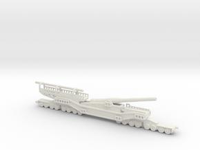 1/160 tm 3 12 railway artillery 305mm ussr russian in White Natural Versatile Plastic
