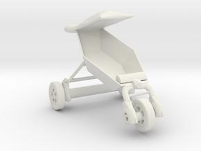 Printle Thing Stroller - 1/24 in White Natural Versatile Plastic