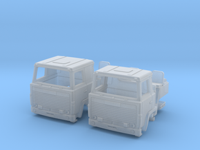 2 spare cabs for RHD Scania 140 in UK N scale in Smoothest Fine Detail Plastic