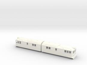 Swedish SJ electric locomotive type Oe / Of - H0-s in White Processed Versatile Plastic