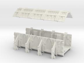 AnphelionBase_Corridor in White Natural Versatile Plastic
