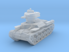 Chi-Ha Tank 1/144 in Smooth Fine Detail Plastic