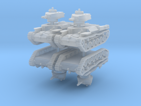 Chi-Ha Tank (x4) 1/160 in Smooth Fine Detail Plastic