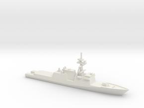 Legend Class National Security Cutter, 1/2400 in White Natural Versatile Plastic
