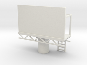 Billboard 1/120 in White Natural Versatile Plastic