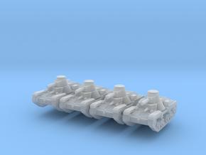 1/200 Ha-Go light tank in Smooth Fine Detail Plastic