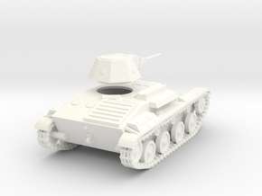 1/48 T-60 tank in White Processed Versatile Plastic